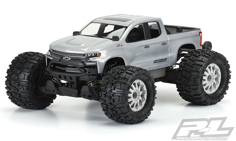 Pro-Line 2019 Chevy Silverado Z71 Trail Boss Clear Body, for Pro-MT and Stampede 4X4 PRO3506-00