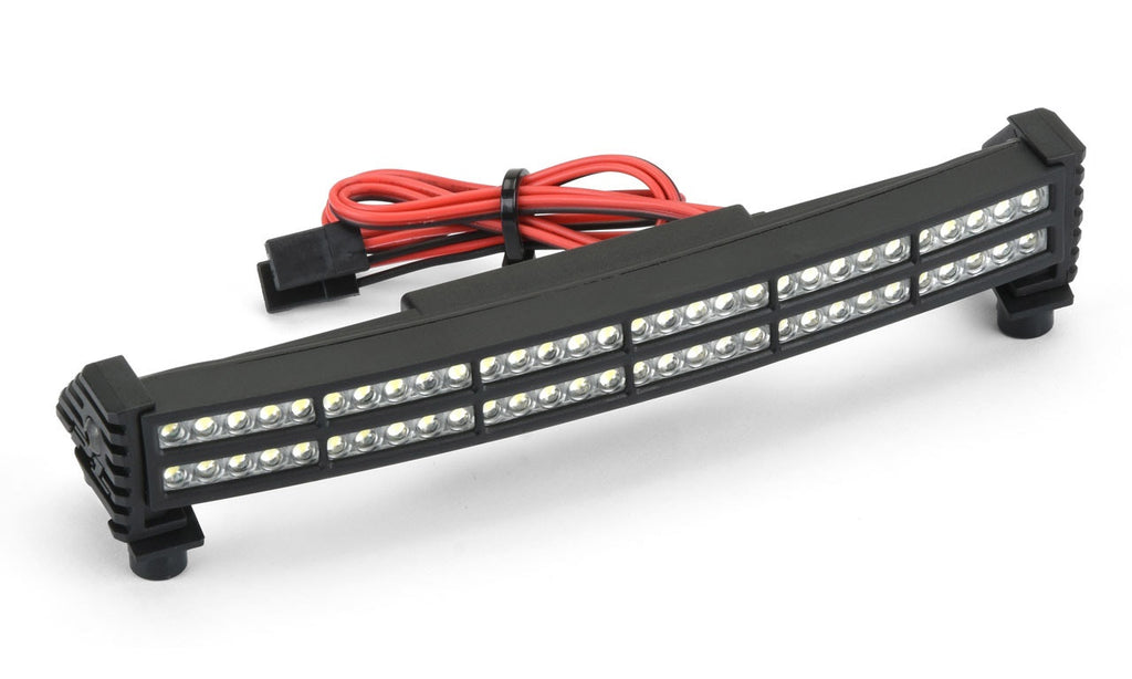 "Pro-Line Double Row 6"" Super-Bright LED Light Bar Kit, 6V-12V, Curved, for Traxxas X-Maxx PRO6276-05"