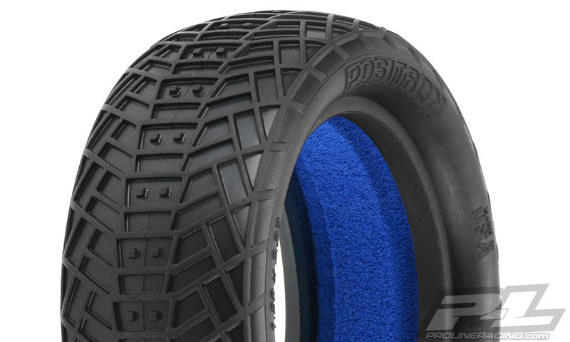 "Pro-Line Positron 2.2"" 4WD M4 (Super Soft) Off-Road Buggy Front Tires (2) W/ Closed Cell Foam PRO8258-03"