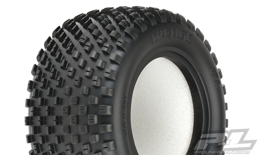 "Pro-Line Wedge T 2.2"" Truck Front Tires in Z3 (Medium Carpet) Compound PRO8263-103"