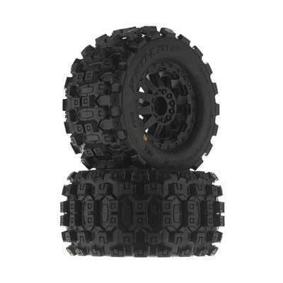 Pro-Line 1/10 Badlands MX28 2.8 All Terrain Tires Mounted PRO10125-15