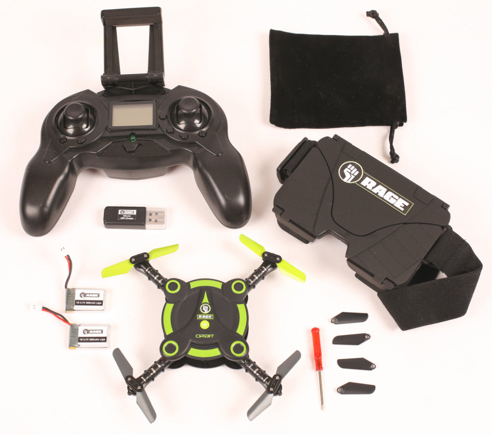 Rage Orbit FPV Pocket Drone RTF RGR3050