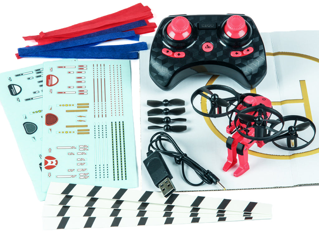 Rage Jetpack Commander RTF Quad-Red RGR4501