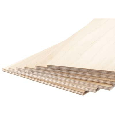 "Revell 887853 Model Birch Plywood 3/16 x 6 x 12"" (6) RMX887853"