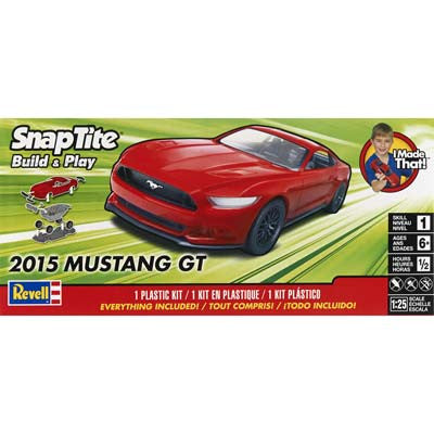 REVELL 1/25 2015 Mustang GT Red RMX851694