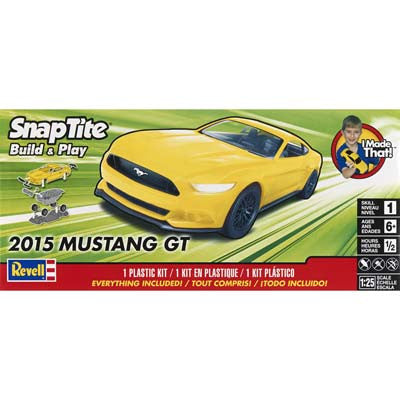 Revell 1/25 2015 Mustang GT Yellow RMX851697