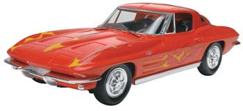 Revell 1/25 Snap '63 Corvette Stingray Coupe RMX851968