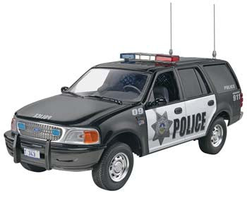 Revell 1/25 '97 Ford Police Expedition RMX851972
