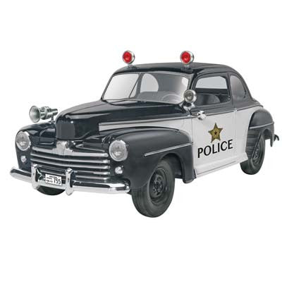 Revell 1/25 '48 Ford Police Coupe 2n1 RMX854318
