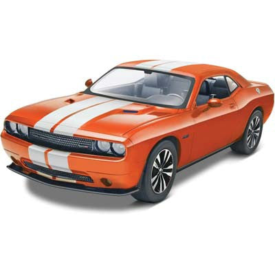 REVELL 854358 1/25 2013 Challenger SRT8 Orange RMX854358
