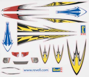 Revell Dry Transfer Decal H RMXY8672