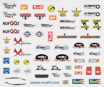 Revell Dry Transfer Decal I RMXY8673