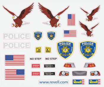 Revell Peel & Stick Decal J RMXY8682