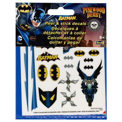 Revell Batman Peel & Stick Decal Sheet RMXY9405