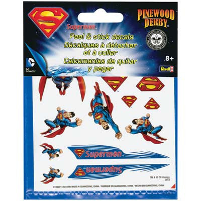 Revell Superman Peel & Stick Decal Sheet RMXY9406