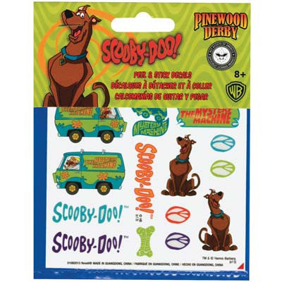 Revell Scooby-Doo Peel & Stick Decal Sheet RMXY9407