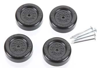 Revell Official Wheel & Axle Set Blac RMXY9608