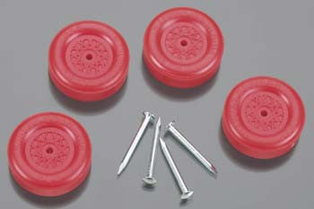 Revell Official BSA Wheel & Axle Set Red RMXY9609