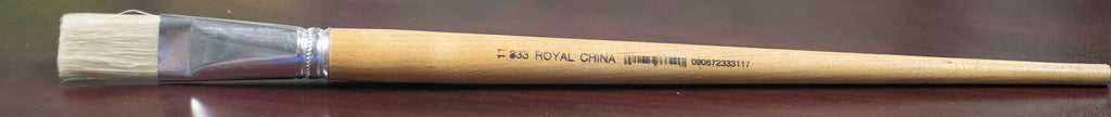 Royal Long Handle White Flat ROY33311