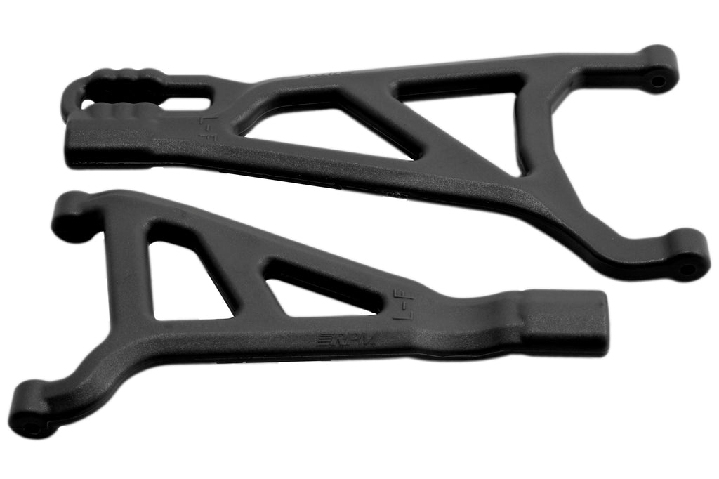 RPM Front Left A-Arms, for Traxxas E-Revo 2.0 Brushless Truck, Black RPM81512