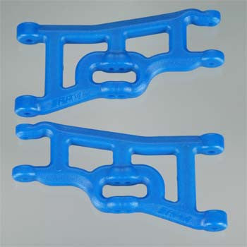 RPM Front A-Arms Blue Rustler/Stampede RPM80245