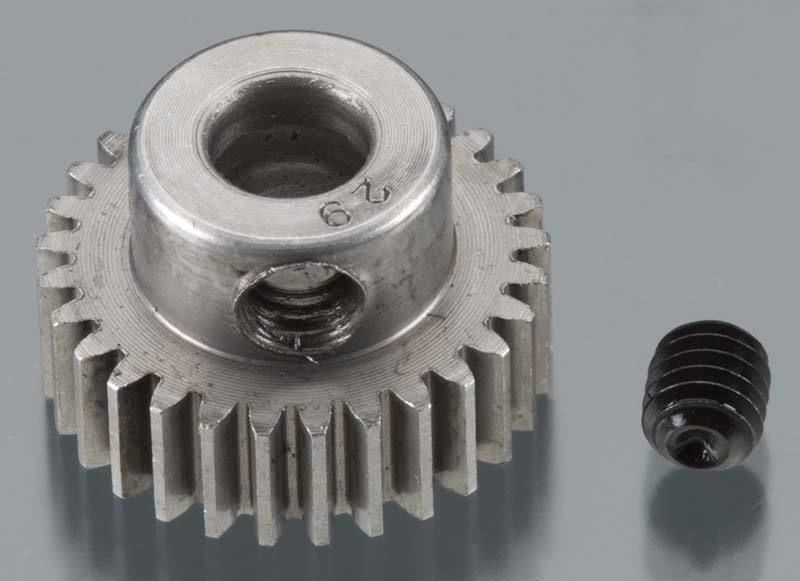 Robinson Racing Hard 48 Pitch Machined 29t Pinion 5mm Bore RRP2029