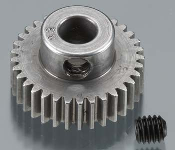 Robinson Racing Pinion Gear Hard Machined 48P 33T 5mm Bore RRP2033