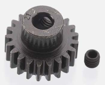 Robinson Racing Products Extra Hard Blackened Steel Pinion 32P 21T 5mm RRP8621
