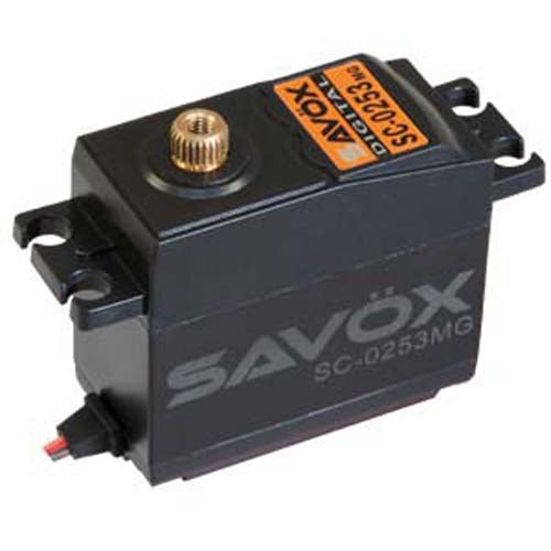 Savox .15/83.3 Std Digital Servo SAVSC0253MG
