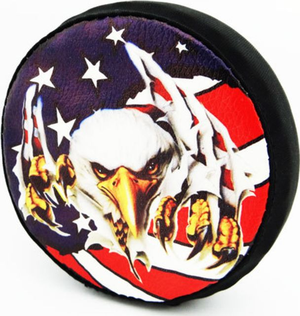 Hot Racing 1/10 Scale American Eagle Spare Tire Cover - SCX10 HRASCX36117E
