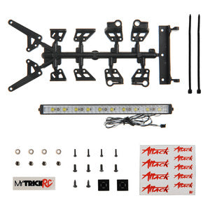 "MyTrick RC 6"" High Power Light Bar Kit - 1-6"" High Power Light Bar with Mounting Brackets and Hardware MYKFT3"