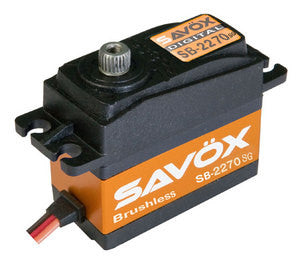 Savox .12/444 High Voltage Servo Brushless Digital SAVSB2270SG