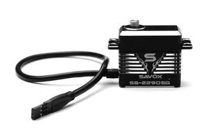 Savox Monster Torque Brushless Servo, Black Edition .13sec / 694.4oz @ 7.4v SAVSB2290SG
