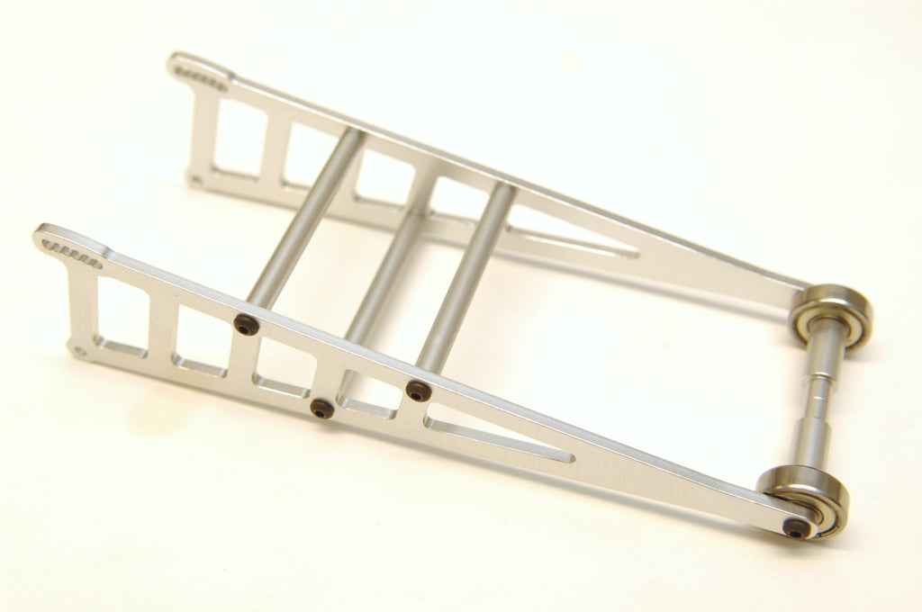 ST Racing Concepts Aluminum Adjustable Wheelie Bar Kit, for Traxxas Slash 2WD LCG / Rustler / Bandit, Silver STRST3678WS