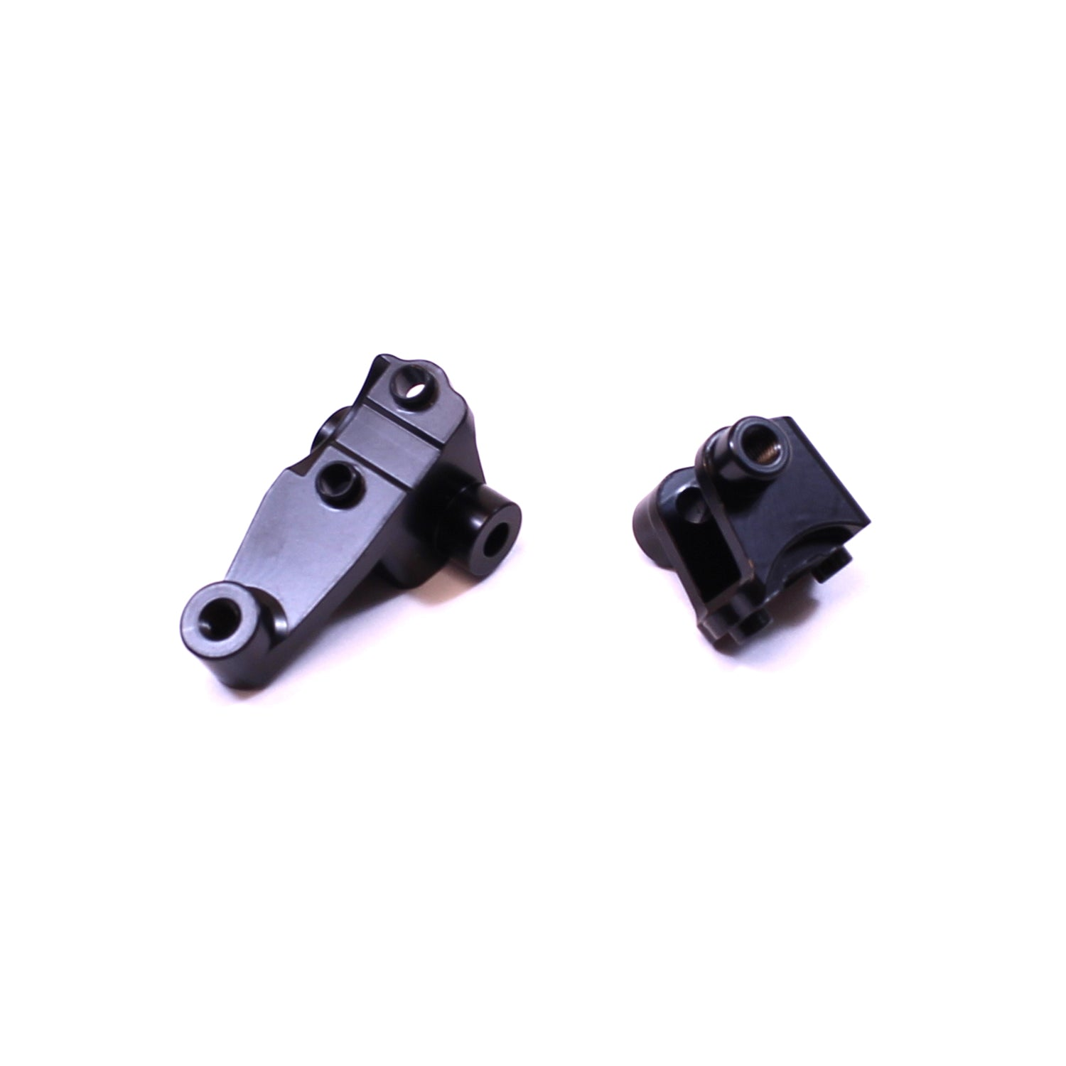 ST Racing Concepts Brass Front Lower Shock and Panhard Mount, Black, CNC Machined, for Traxxas TRX-4, (1pc) SPTST8227FBR