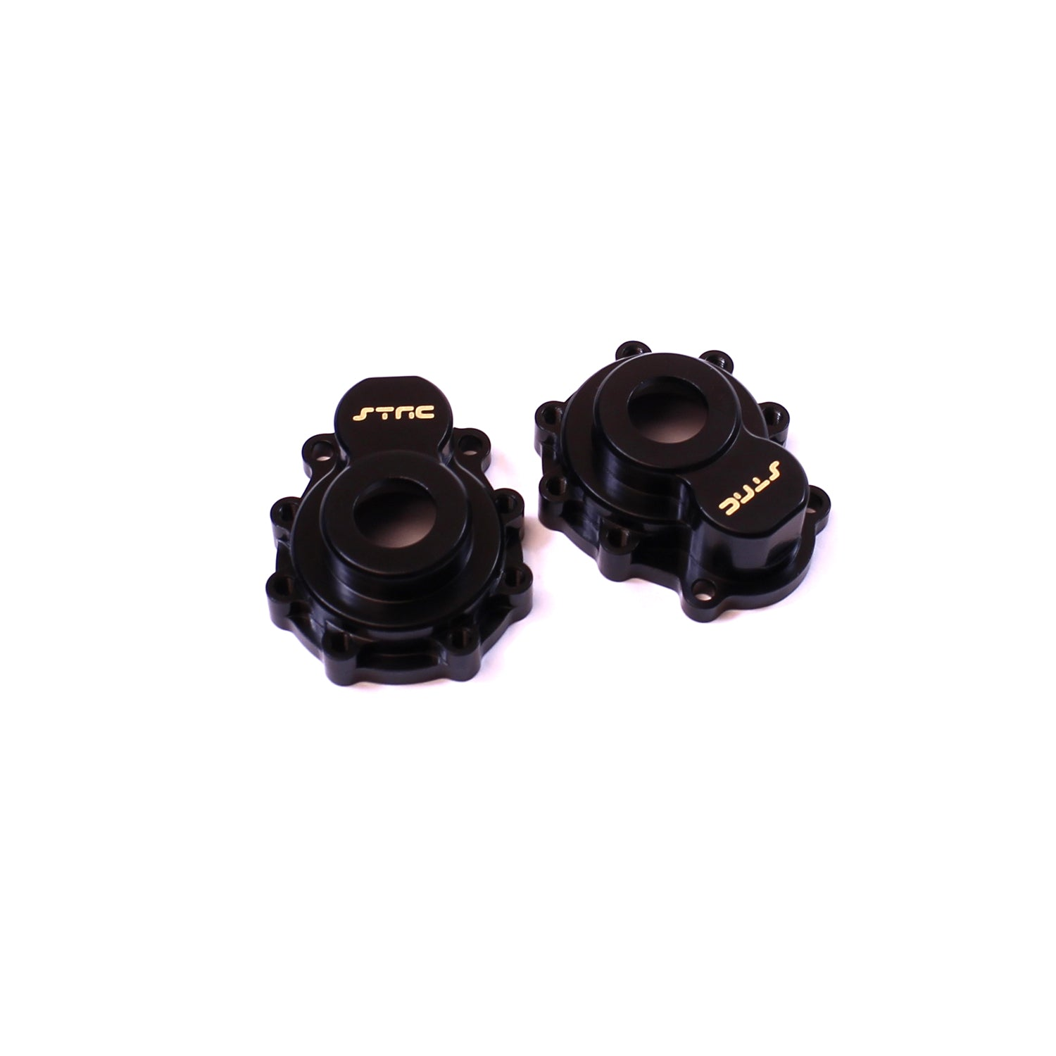 ST Racing Concepts CNC Machined Brass Outer Portal Drive Housing, Black, for Traxxas TRX-4, (1 pair) STRST8251B