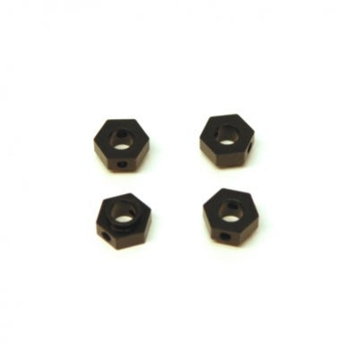 ST Racing Concepts Black CNC Machined Aluminum Wheel Hex Adapter (4pcs) for Traxxas TRX-4 STRST8269BK