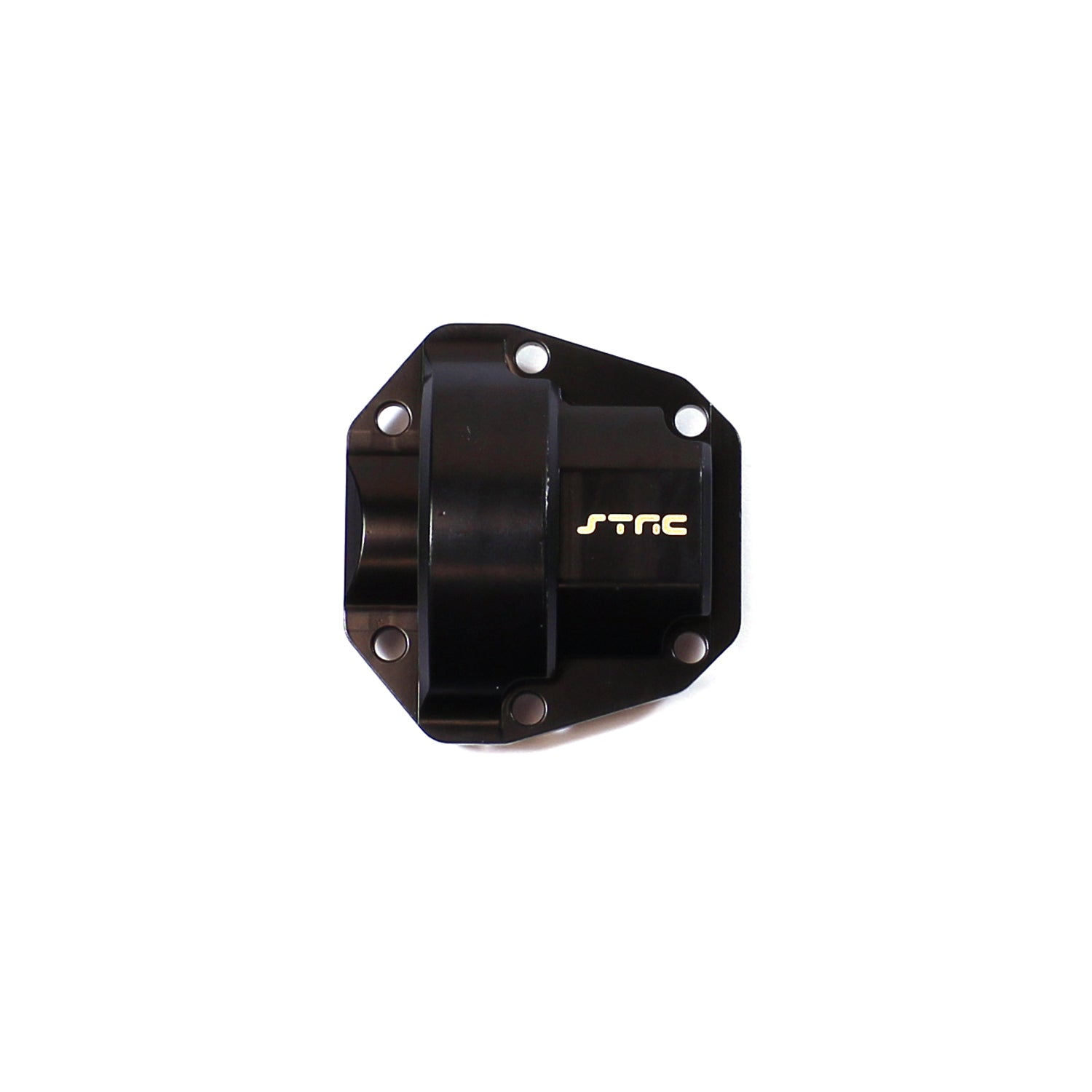 ST Racing Concepts Brass Front or Rear Axle Diff Cover, for Venture, CNC Machined, Black, (2pcs) STRSTH116866BR
