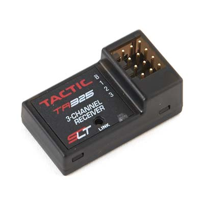 Tactic 3Ch 2.4GHz Receiver Only TACTR325