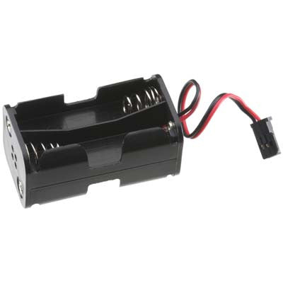 Tactic 4 Cell AA Battery Holder W/Futaba Plug TACM2020