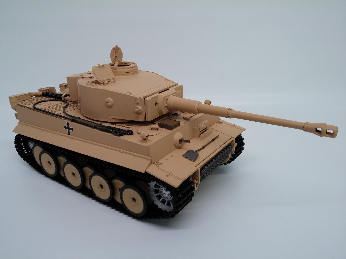 Taigen Tiger 1 Early Version (Plastic Edition) Airsoft 2.4GHz RTR RC Tank 1/16th Scale TAG12010
