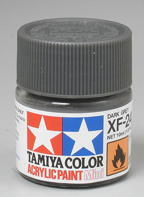 Tamiya XF-24 Dark Gray 1/3 oz Acrylic Mini TAM81724