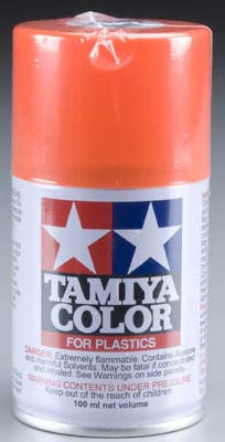 Tamiya 85031 Spray Lacquer TS31 Bright Orange 3 oz TAM85031