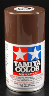 Tamiya Spray Lacquer TS69 Linoleum Deck Brown 3 oz TAM85069 ..