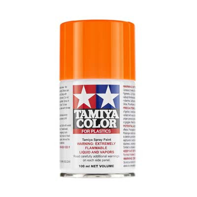 Tamiya 85096 Spray Lacquer TS-96 Fluorescent Orange 3 oz	TAM85096