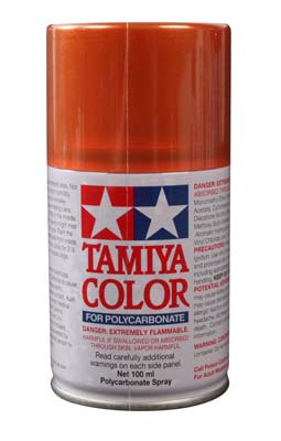 Tamiya Ps-61 Metallic Orange Polycarbonate TAM86061