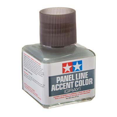 Tamiya Panel Line Accent Color Gray TAM87133