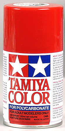 Tamiya Ps-2 Red Polycarbonate Spray 3 Oz TAM86002