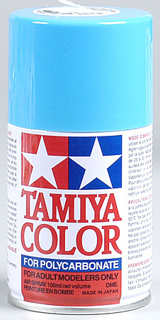 Tamiya Ps-3 Light Blue Polycarbonate Spray 3 Oz TAM86003