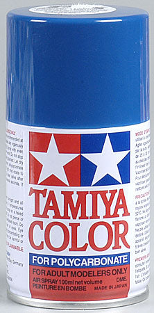 Tamiya Ps-4 Blue Polycarbonate Spray 3 Oz TAM86004